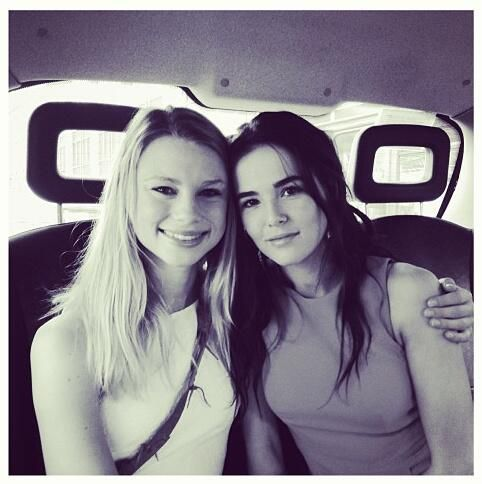 Rose And Lissa for Vampire Academy. All rights belong to Zoey Deutch & Lucy Fry: