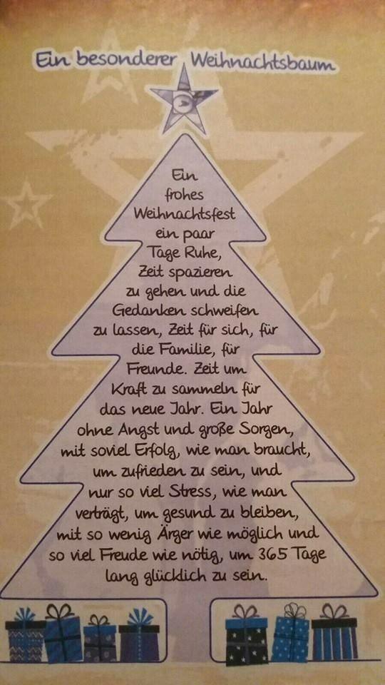 Geschichte Weihnachtsbaum.Ein Besonderer Weihnachtsbaum Weihnachten 2019