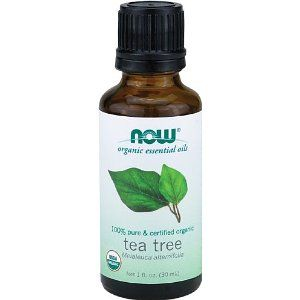 Now Foods Organic Tea Tree Oil - Always use a diluted solution to avoid potential hazardous outcomes. Undiluted tea tree oil can cause redness, irritation, over drying and blistering. A great thing to remember is to keep the solution at a ratio of 5 parts tea tree essential oil to 95 parts distilled water or carrier oil of choice.