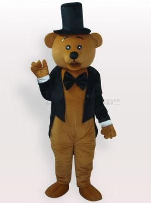 Ritual Bear Short Plush Adult Mascot Costume - all the mascot costumes are global free shipping at http://www.cosplayzentai.com