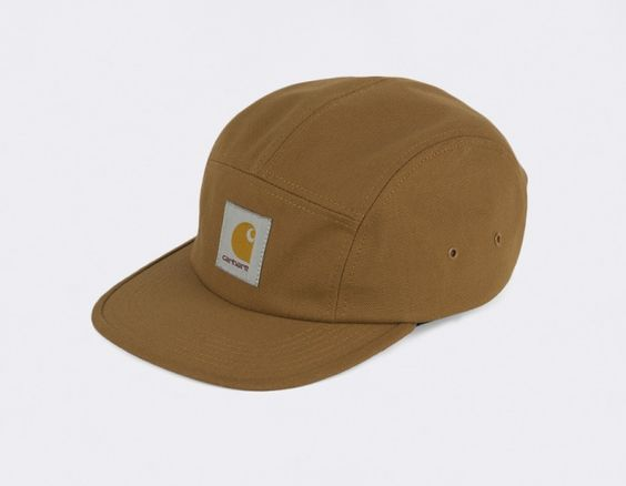 #Carhartt Caps 5 Panel Backley Brown