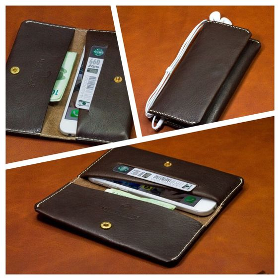 iPhone6 leather wallet