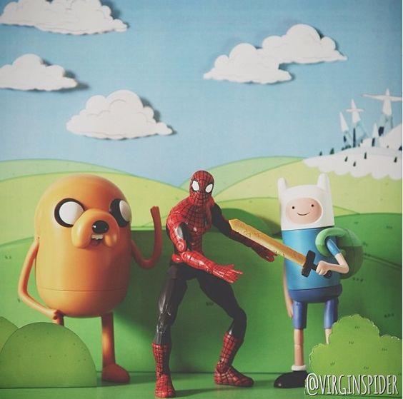 VirginSpider - A vida inusitada do Homem aranha no Instagram | Criatives | Blog Design, Inspirações, Tutoriais, Web Design