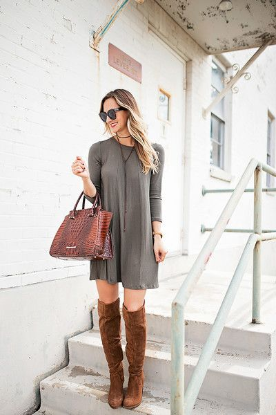 Tall boots outfit