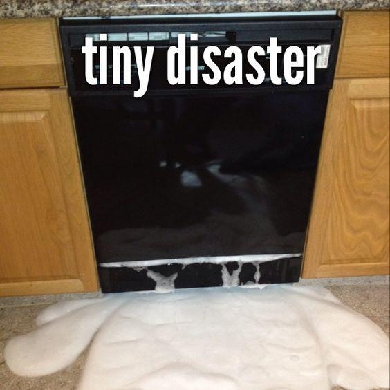 dishwasher disaster