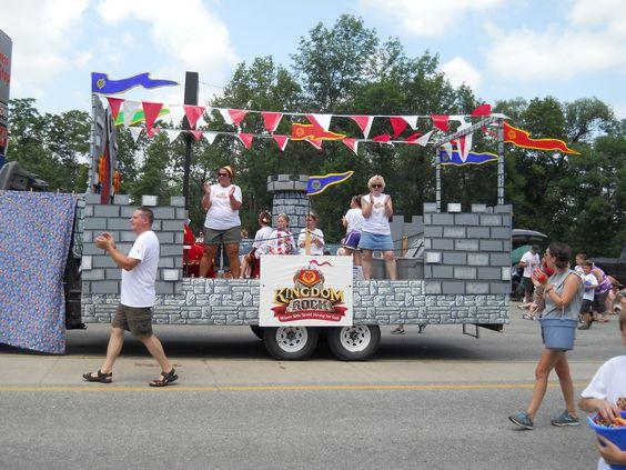 Kingdom Rock Parade Float