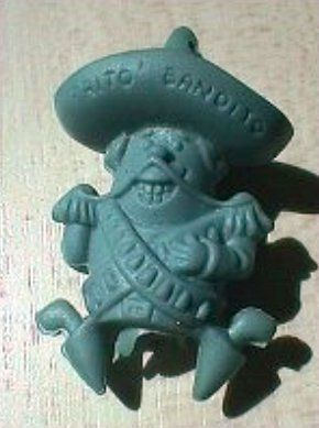 I loved these Frito Bandito erasers when I was a kid.