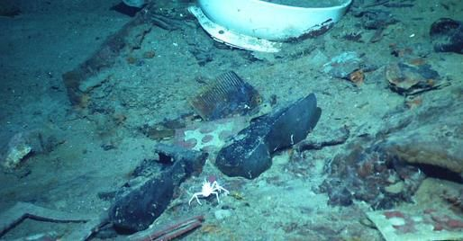 titanic underwater bodies titanic site reveals hints of