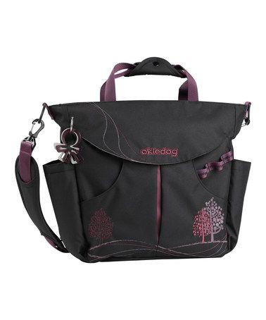 Look at this #zulilyfind! Black & Purple Dahoma Sumo Big Diaper Backpack by okiedog #zulilyfinds