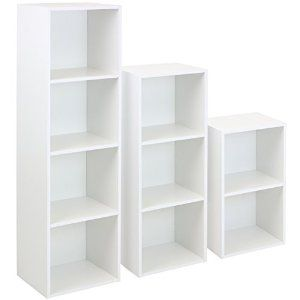 Hartleys White Cube Unit - Choice of Size: Amazon.co.uk: Kitchen & Home