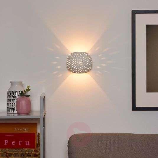 Wandlamp Gipsy Van Gips In 2020 Wandlamp Muurverlichting Lampen