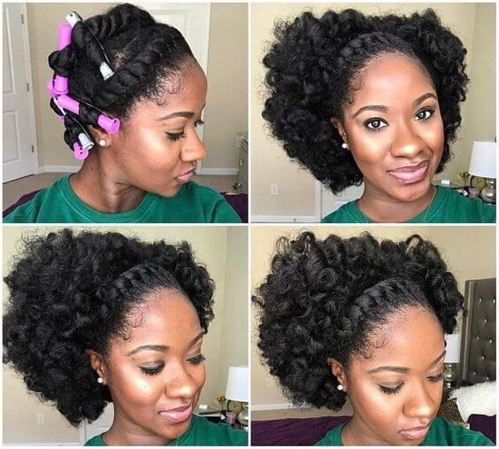13 Trendy Transitioning Hairstyles For Short Hair The Blessed Queens Short Natural Hair Styles Natural Hair Twists Natural Hair Styles