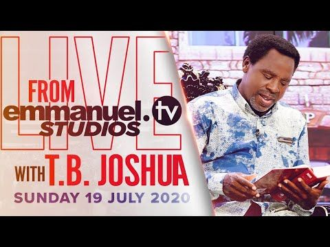 Live Broadcast With Tb Joshua From Emmanuel Tv Studios 19 07 20 Youtube In 2020 Emmanuel Tv Live Broadcast Broadcast