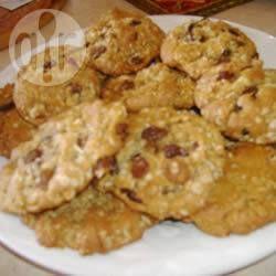 Galletas de avena con pasas y coco @ allrecipes.com.mx