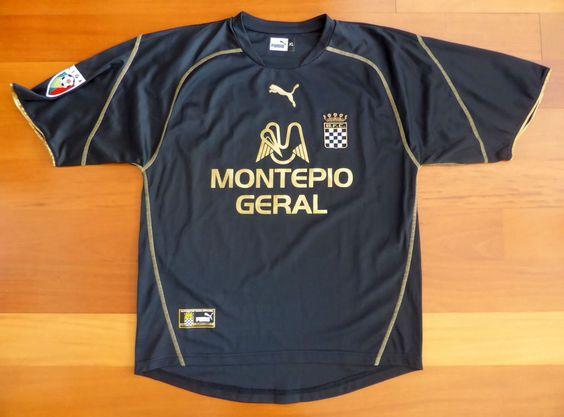 Boavista FC Portugal match worn JORGE SILVA 2002/03