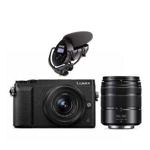 Top Deal Panasonic Gx85 Kit 12 32mm 45 150mm Lens Shure Vp83f Mic Top Camera Lens Digital Camera