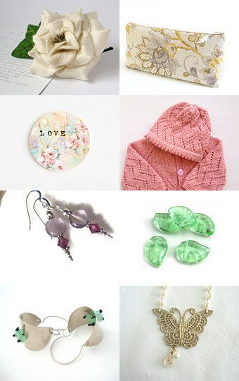 Spring Pastels by Julia on Etsy--Pinned with TreasuryPin.com