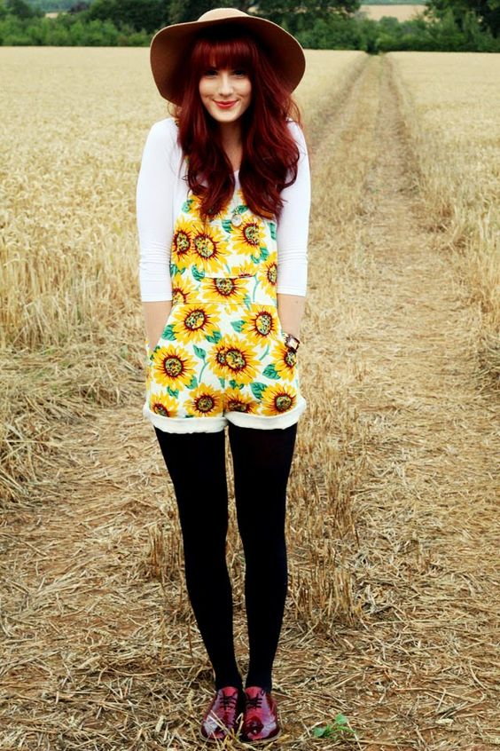 Sunflower Printed Denim Short-All $88 Size S
