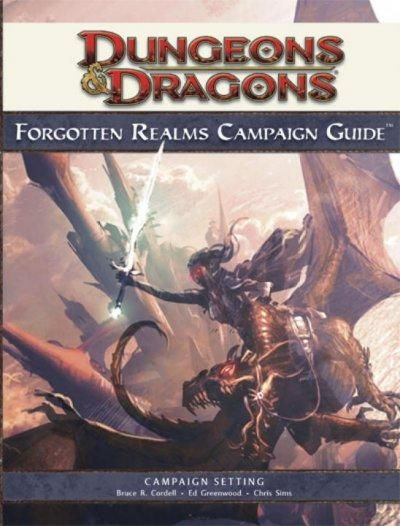 Dungeons & Dragons Forgotten Realms Campaign Guide: Roleplaying Game Supplement