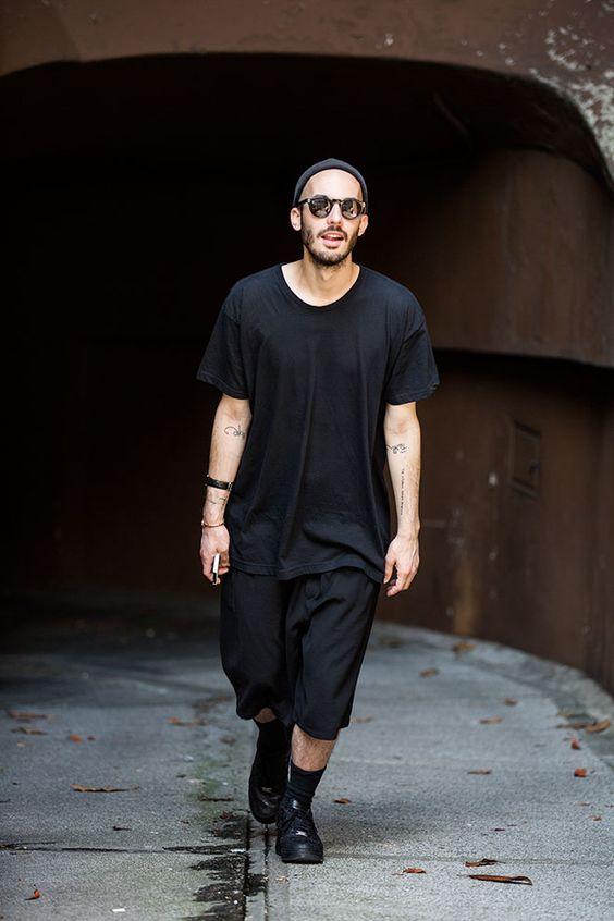 Street looks à la Fashion Week homme printemps-été 2016 de Milan