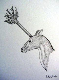 Representation of Julius Caesar's unique unicorn (Markus Bühler)