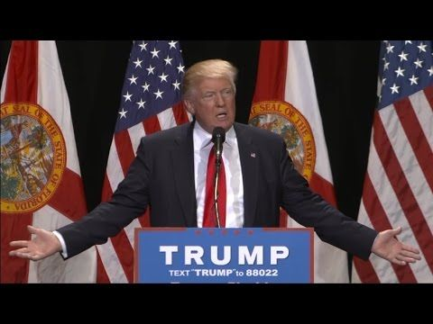 Puke  One Moment At Trump's Florida Rally Showed Republican Racism At It's Misplaced Worst