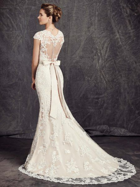 Kenneth Winston: Ella Rosa Collection BE277 Wedding Dress