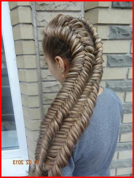 Double Dutch Fishtail Braids Braided Hairstyles Easy Braids For