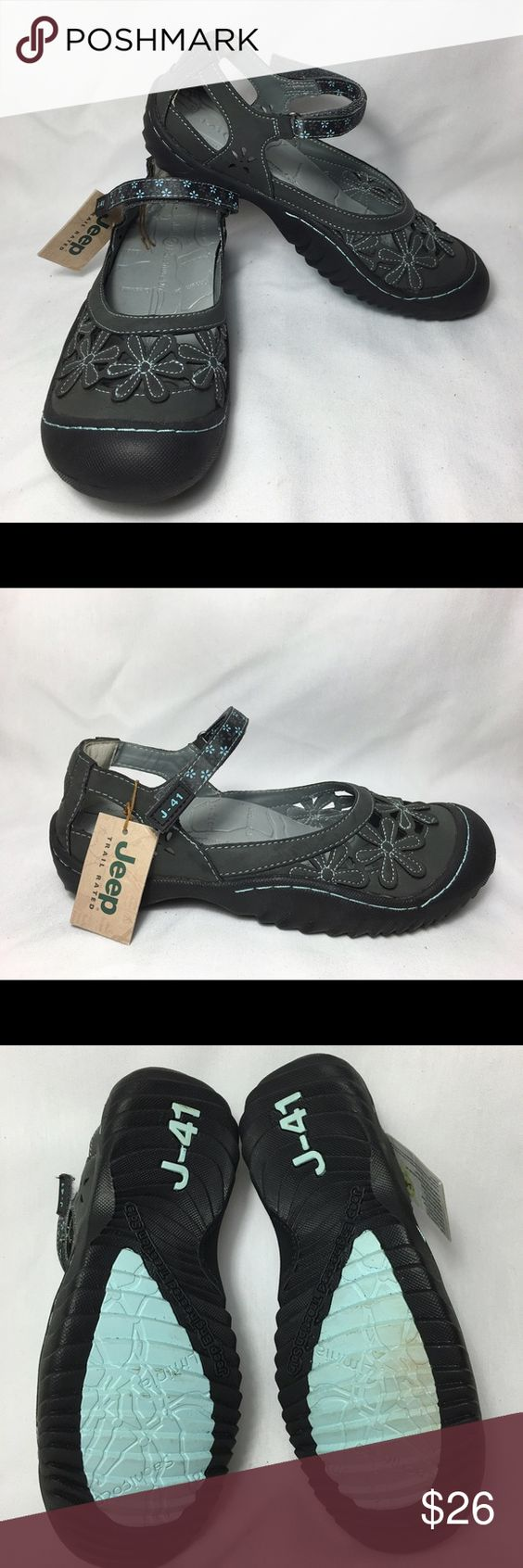 J-41 by Jeep Sport Sneaker These are J-41 (Orchid) by Jeep engineered traction sole and water-ready sport shoes. These shoes are brand new however have a small defect on bottom sole of right shoe that appears to have been used! Jeep Shoes Athletic Shoes