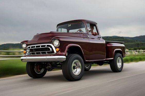 1957 Chevrolet NAPCO 4X4 by Legacy Classic Trucks
