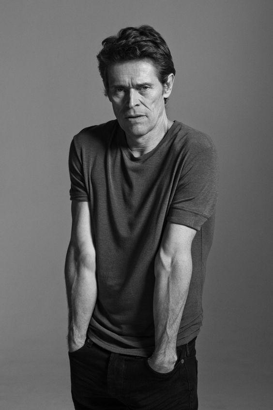 Willem Dafoe photographed by Tim Barber.