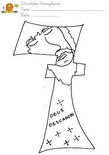 7th day of creation - ESCOLA DOMINICAL INFANTIL: A Criação do Mundo - Deus fez o mundo em sete dias