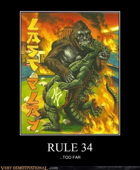 Rule 34 on Pinterest