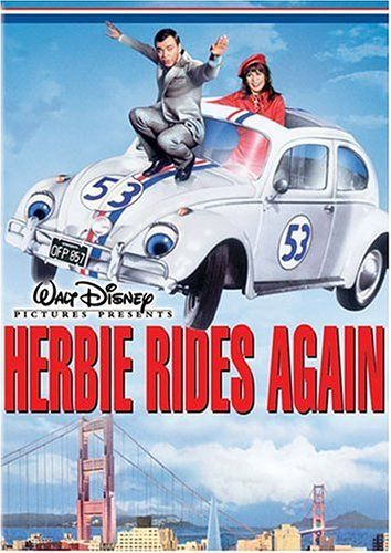 Herbie's back for his second movie, and this time he's trying to save a firehouse.