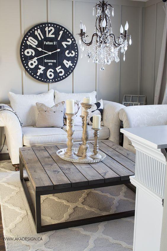 Modest Wooden Tables DIY Home Decor Ideas