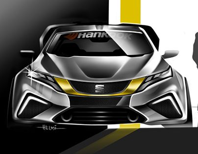 """Check out new work on my @Behance portfolio: """"SEAT concept sketch"""" http://be.net/gallery/45513129/SEAT-concept-sketch #cardesign #transportdesign #seatconcept"""