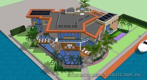 The Altaira House Plan House Plans Modern House Plans Modern Floor Plans