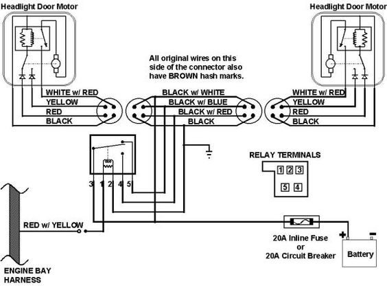 67 camaro headlight wiring harness schematic | this is the ... fuse box diagram for 2011 camaro engine harness diagram for 73 camaro #13