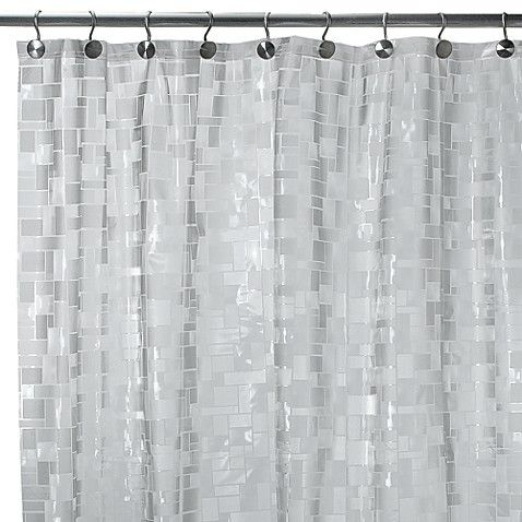 Complement Any Bathroom Decor With This Translucent Shower Curtain