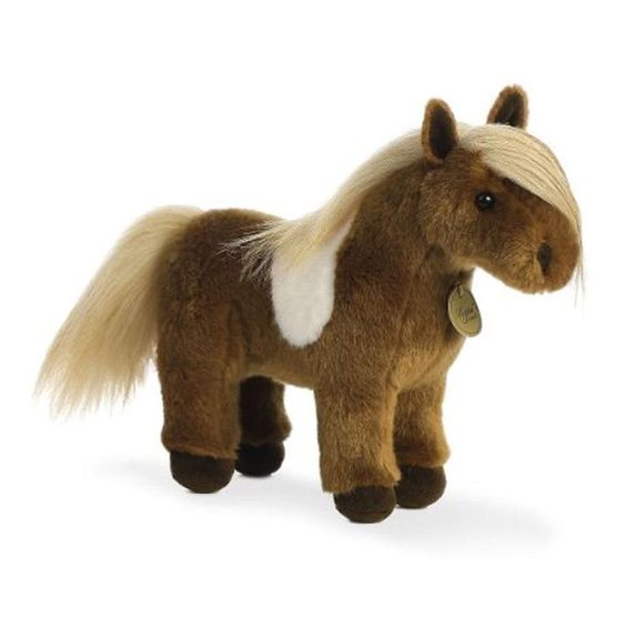 "10"" Horse Shetland Pony Miyoni Western Aurora Plush Stuffed Animal Toy 26274…"