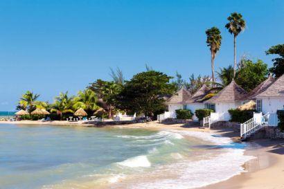 Ocean-front cottages,Royal Decameron Club Caribbean,Runaway Bay,Jamaica
