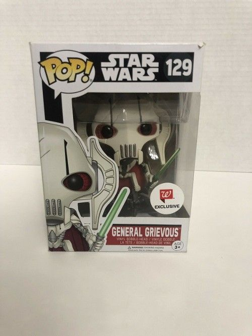 45 0 Funko Pop Star Wars General Grievous Vinyl Collectible 129 Exclusive 30off Funkopop Bobbleheads Funko Pop Star Wars Funko Pop Toys Pop Vinyl Figures