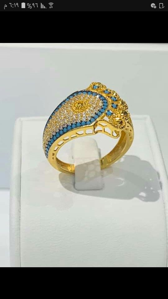 Pin By Alaa Alaa On خواتم ذهب فيس Gold Rings Gold Jewelry
