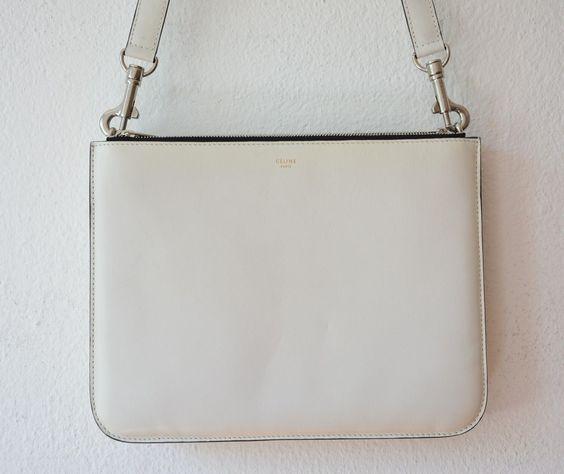 celine bags white