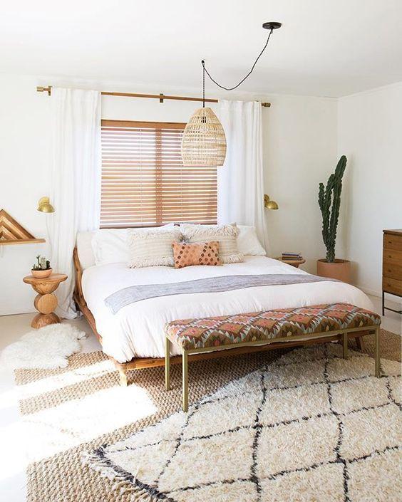 white bedroom idea boho bedroom bohemian bedroom design scandinavian bedroom nighslee memory foam mattress interior mattress reviews mattress sizes