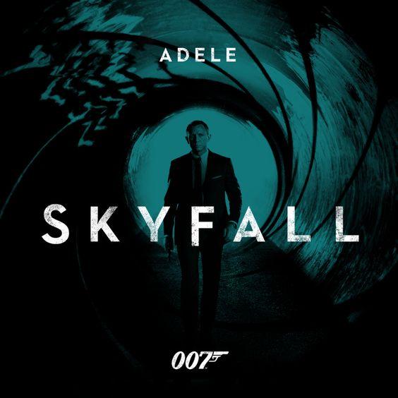 Adele – Skyfall (single cover art)