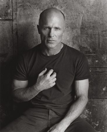 Ed Harris .. he always makes me think of my father.  Both strong and handsome, inside and out!