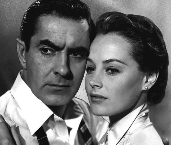 "Tyrone Power and Victoria Shaw in 1956's ""The Eddy Duchin Story."""