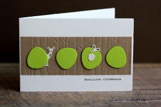 Grüne Eicheln - 5 Fliegen mit einer Klappe