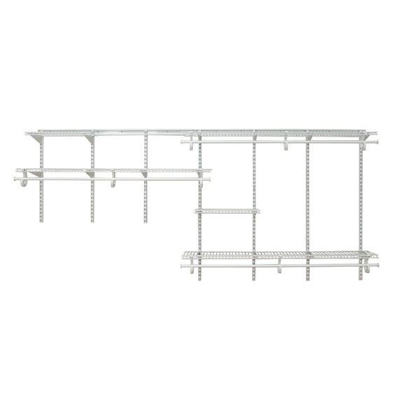 Closetmaid 209100 Closet System Wire Closet Organizer Closet